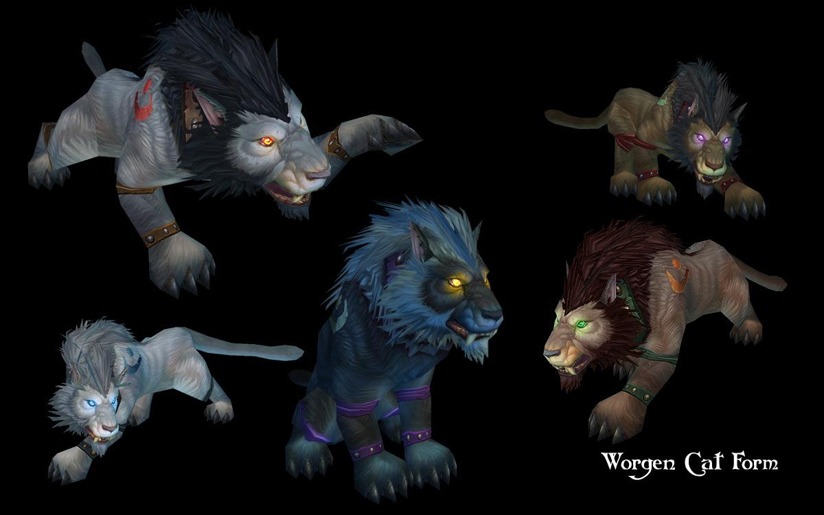 Troll/worgen bear/cat forms preview [Archive] - Scrolls of Lore Forums