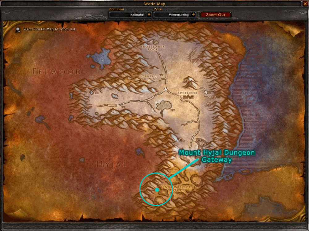 Blizzplanet World Of Warcraft Burning Crusade Mount Hyjal Dungeon