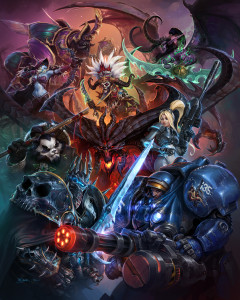 blizzcon-2013-heroes-of-the-storm-artwork