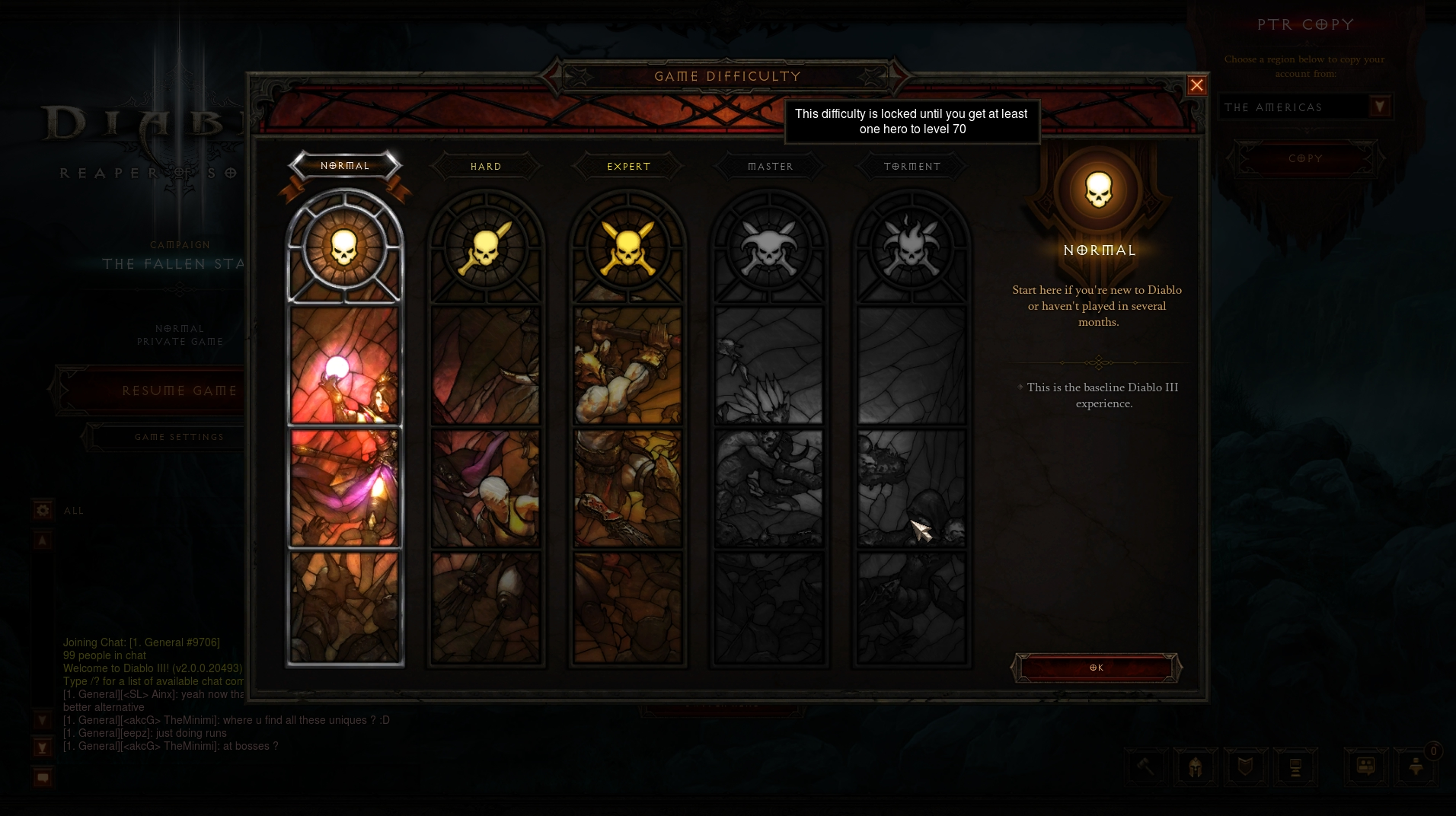 how to start adventure mode in diablo 3