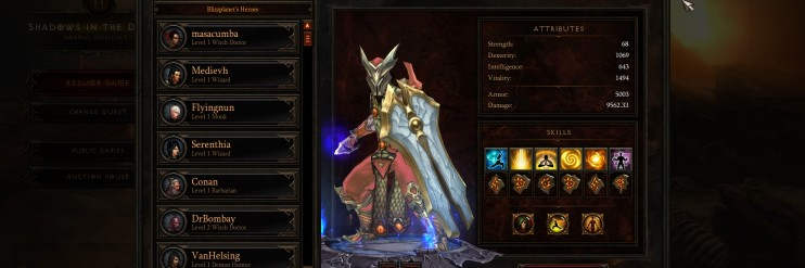 Diablo III (Before)