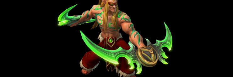 Illidan Blood Elf