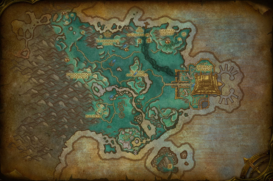 how to go to shadowmoon valley from stormwind