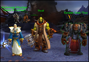 warlords-of-draenor-out-of-the-fire-into-the-frost-thrall-khadgar-drektar-featured-box