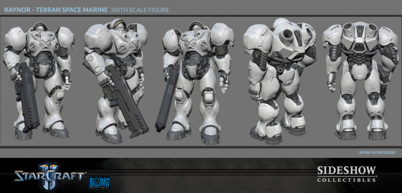 sideshow-StarCraft-sixth-scale-figure-Wip1